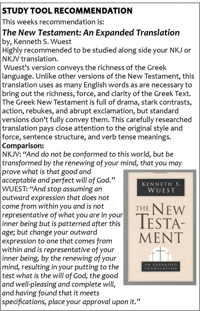10 new test bible