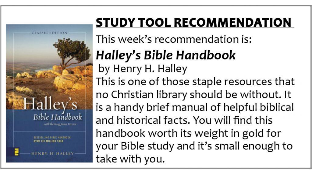 3 Halley's handbook