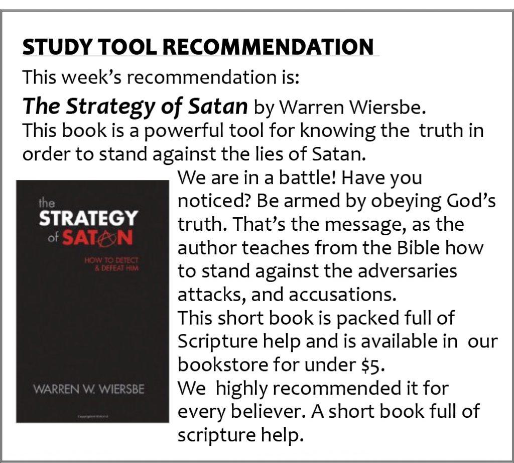 5 Strategy of Satan